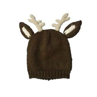 Farm Boys Western Hat Boys Reindeer Knitted Antlers Brown F51474194 - s-m