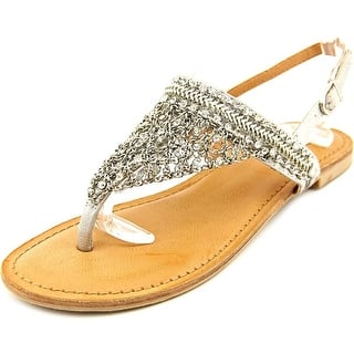 Not Rated Jewels Open-Toe Synthetic Slingback Sandal|https://ak1.ostkcdn.com/images/products/is/images/direct/d5b23ef7a4892281e7ef63c5136741f4bafd7eca/Not-Rated-Jewels-Women-Open-Toe-Synthetic-Silver-Slingback-Sandal.jpg?impolicy=medium