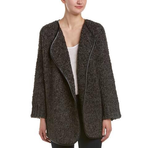 Joie Misae Wool & Alpaca-Blend Sweater - HEATHER CHARCOAL MUL