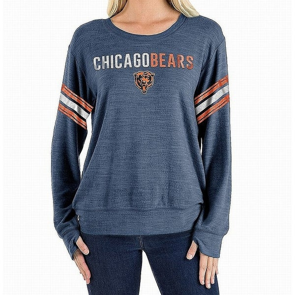 new arrival 84121 13c6b NFL Team Apparel Blue Women Large L Chicago Bears Pullover Sweater