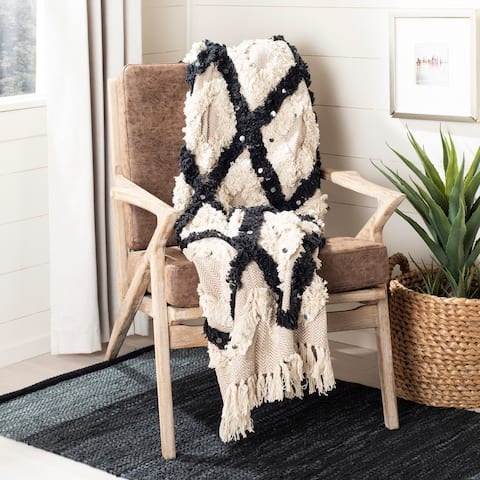 Safavieh Lila Grace Tufted Throw