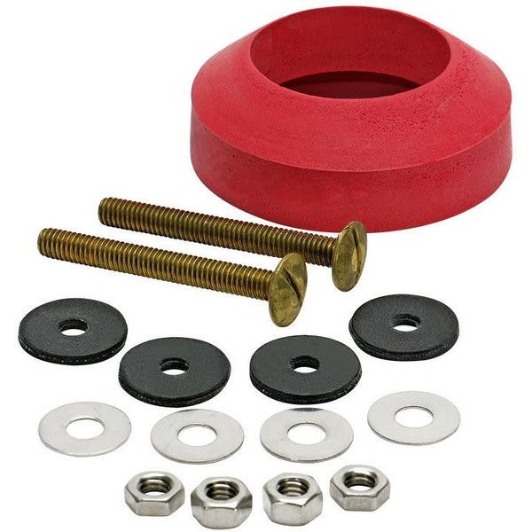 Fluidmaster 6102 Tank to Bowl Bolts Set of 2 with Washers, Nuts and Gasket Kit