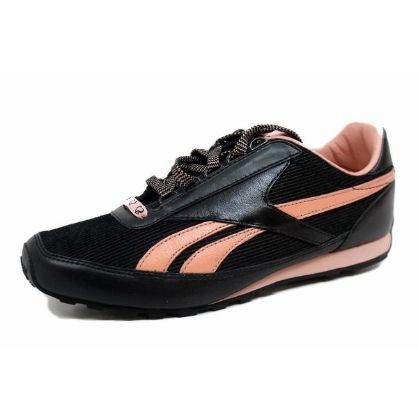 Reebok Women's SJ Retro Aztec Leather 1 Black/Pearl Pink 1-181624 Size 8.5