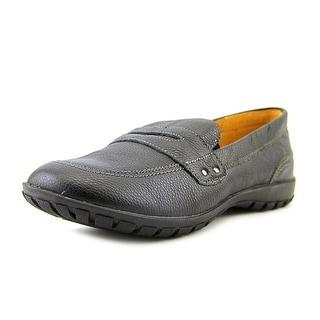 Hush Puppies Salem Moc Toe Leather Loafer