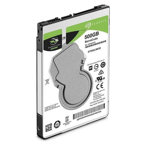 "Seagate 500 GB 5400 RPM External 2.5"" Hard Disk Drive (HDD)(Certified Refurbished) - 0.276 x 2.750 x 3.951"