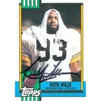 ae58ec976ba Pittsburgh Steelers 1990 Topps No. 190 Keith Willis ed Football Card