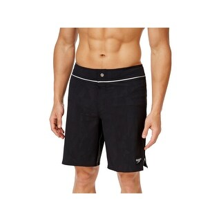 Speedo Mens Contrast Trim Packable Board Shorts