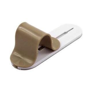 Multi-purpose Adjustable Non-slip Phone Ring Grip Stand Holder Light Brown