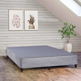 Link to ONETON ,13-Inch Platform Bed For Mattress, Eliminate Need For Box Spring And Frame,Grey Similar Items in Bedroom Furniture