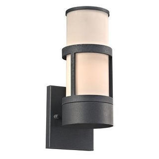 "PLC Lighting 8047 1 Light 4.75"" Wide Outdoor Wall Sconce from the Qubert Collection"