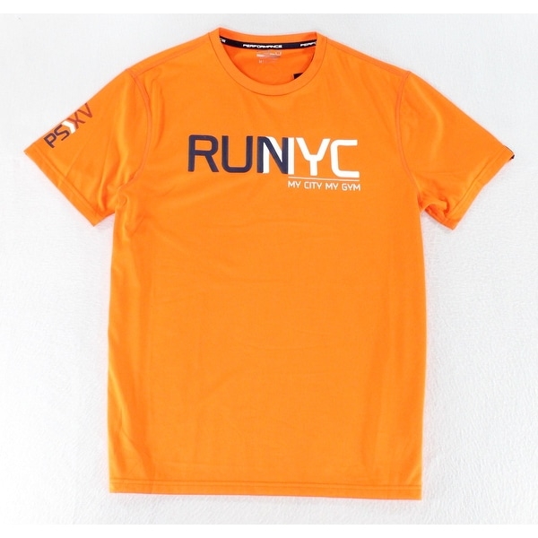 285a76ff1 Polo Sport By Ralph Lauren NEW Orange Mens Size Medium M RUNYC Shirt. Click  to Zoom