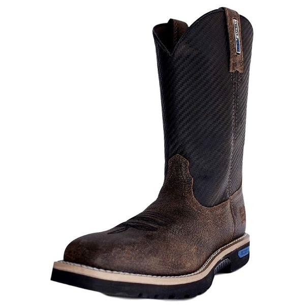 Cinch Work Boots Mens WRX Master Ceramic Toe Outcast Brown