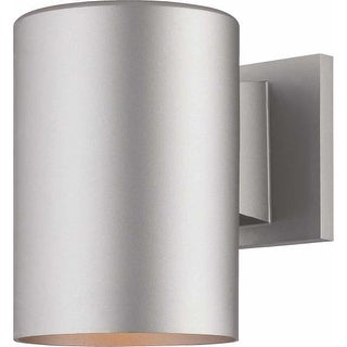 "Volume Lighting V9625 1 Light 7.25"" Height Outdoor Wall Sconce with Metal Shade"