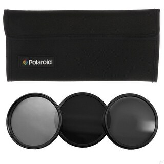Polaroid Optics 49mm Neutral Density (ND) Pro-Grade 3-Piece Filter set