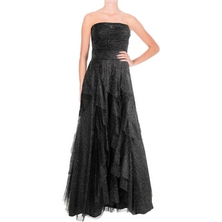 Hailey Logan by Adrianna Papell Womens Mesh Prom Semi-Formal Dress - 7/8