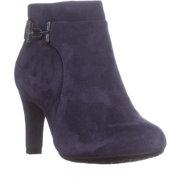 Bandolino Lappo Ankle Boots, Navy/Navy - 5.5 us