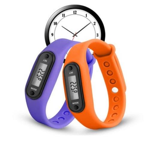 Run Step Watch Bracelet Pedometer Calorie Counter Digital LCD Walking