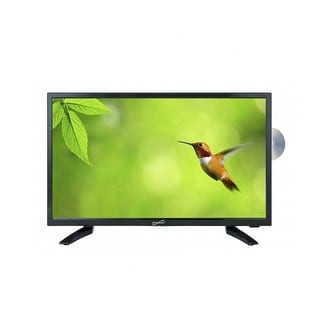 Supersonic 19 LED HDTV with DVD, USB/SD, HDMI INPUTS