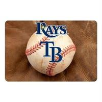 Tampa Bay Rays Pet Bowl Mat