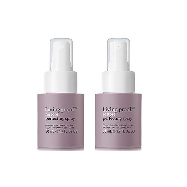 Living Proof Restore Perfecting Spray Travel Size 1.7 Oz - 2 pack