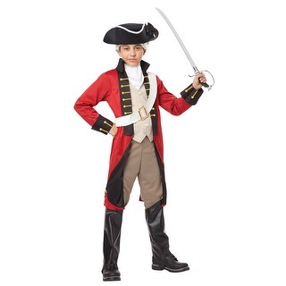 Boys British Redcoat Halloween Costume