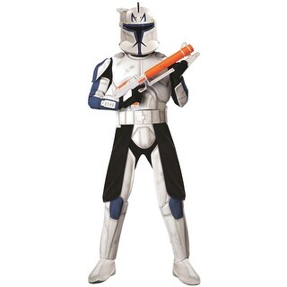 Rubies Star Wars Clone Wars Deluxe Clone Trooper Captain Rex Adult Costume - Solid