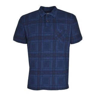 Polo Ralph Lauren RL Cotton Polo Shirt X-Large Blue and Black Plaid