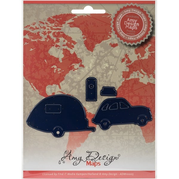 Find It Trading Amy Design Map Die-Car W/Camper
