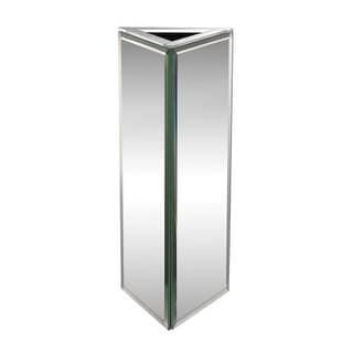 Dimond Home 173-018 Triangular Mirrored Vase - Small