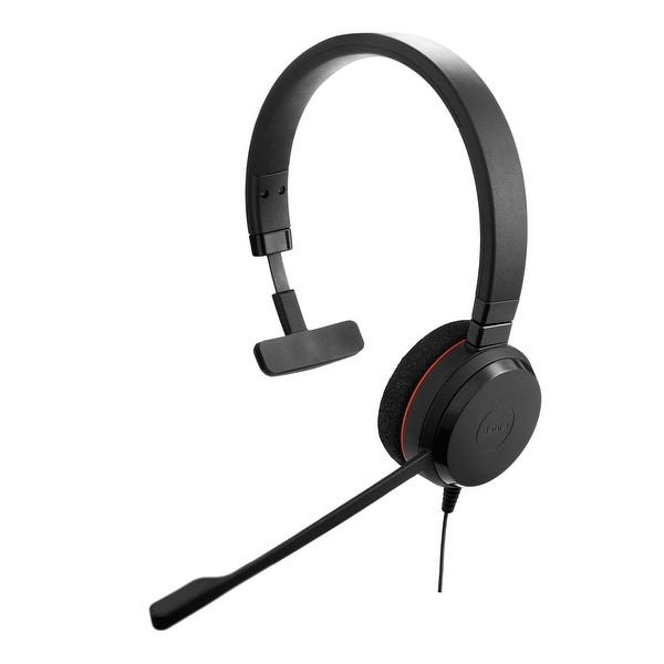 Jabra Evolve 30 II UC Mono Corded Headset f/ Connect to Multiple Devices