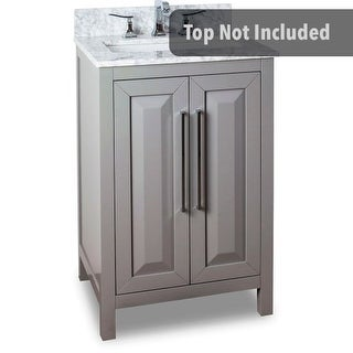 Jeffrey Alexander VAN100-24 23-11/16 Inch Single Free Standing Hardwood Vanity Cabinet Only from the Cade Contempo Collection