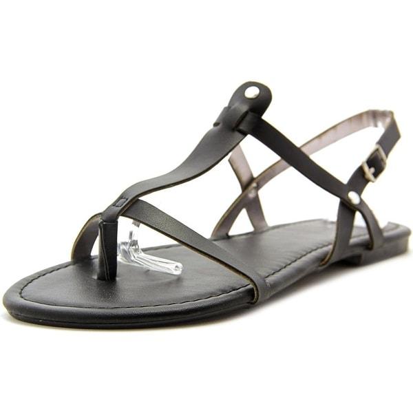 143 Girl Radko Women Open Toe Synthetic Black Thong Sandal