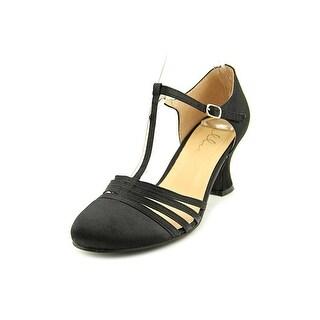 Ellie Lucille Women  Round Toe Canvas  Heels