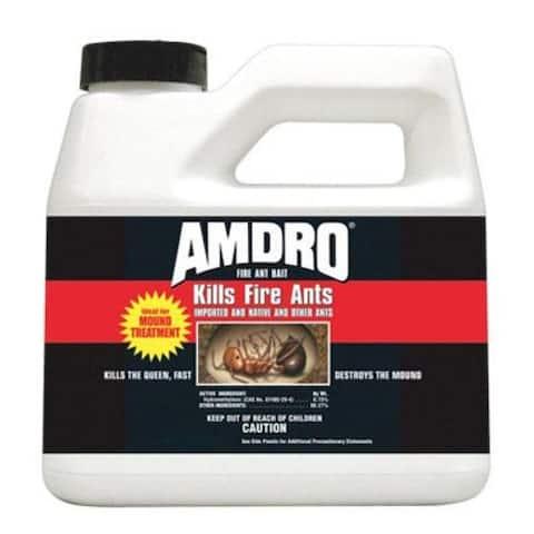 Amdro 2456441 Amdro Fire Ant And Bait Killer, Granular, 6 Ounce