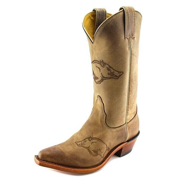 Nocona Women's Arkansas 11 Women Pointed Toe Leather Western Boot
