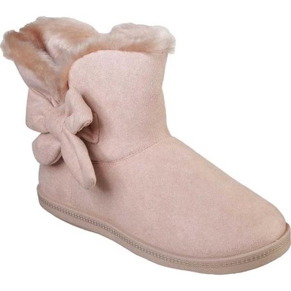 Shop Skechers Women s Cozy Campfire Slipper Boot Light Pink - Free ... 6cbcdf56d783