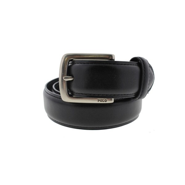 Polo Ralph Lauren Mens Dress Belt Leather Buckle