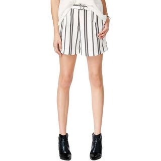 Sanctuary Womens Casual Shorts Striped Belted|https://ak1.ostkcdn.com/images/products/is/images/direct/d5c6871008c03d3604f01aa2d6404fe7a5725535/Sanctuary-Womens-Casual-Shorts-Striped-Belted.jpg?impolicy=medium