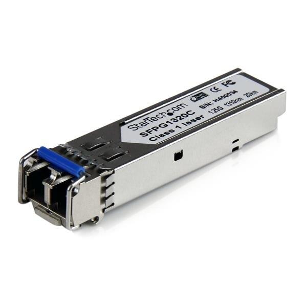 Startech Sfpg1320c 1.25Gbps Gigabit 1310Nm Gbic Sm Lc Fiber Sfp Transceiver