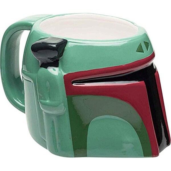 Star Wars Boba Fett Sculpted Ceramic Mug - Multi