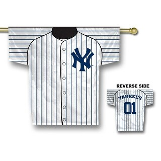 Fremont Die Inc New York Yankees Jersey Banner - 2-Sided Two Sided Jersey Banner