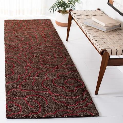 Safavieh Handmade Soho Aloisa Roses N.Z. Wool Rug