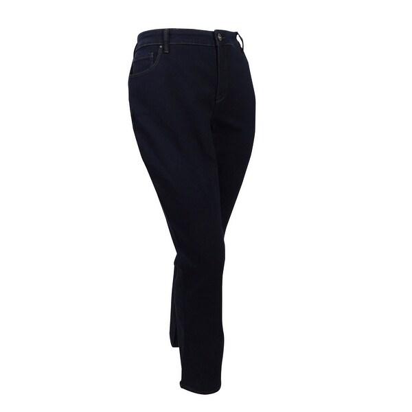 50b3a3fba1c Shop Style   Co. Women s Plus Size Tummy Control Bootcut Jeans (18W ...