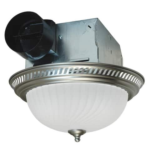 Air King DRLC70 70 CFM 4 Sone Ceiling Mounted Exhaust Fan with Dual