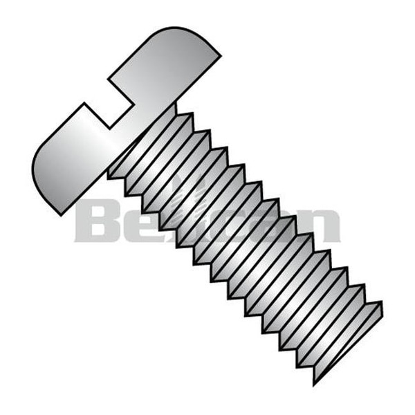 Shop No 2 56 X 0 25 Slotted Fully Threaded Pan Machine Screw