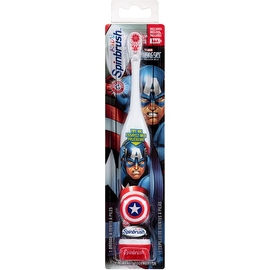 ARM & HAMMER Kid's Spinbrush Toothbrush, Marvel Heroes 1 ea