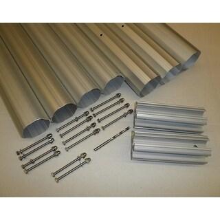 "HydroTools Hexagonal Aluminum Solar Cover Reel Tube Kit - 4"" x 28'"
