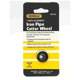 """General RW122 Replacement Pipe Cutter Wheel For Iron Pipe 2-5/8"""""""