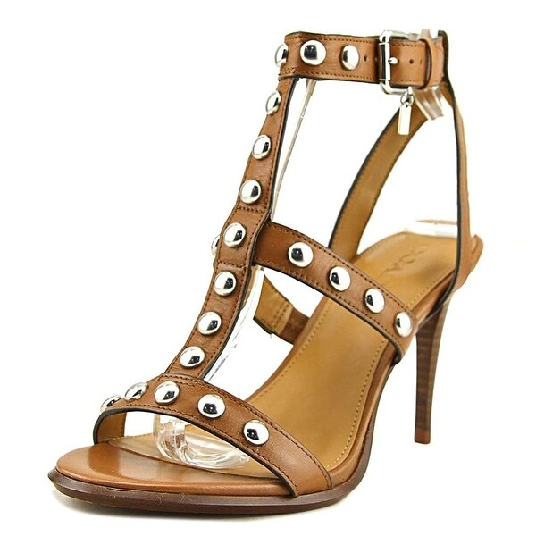 65f123edeb1 Shop Coach Womens Isabell II Leather Open Toe Casual Strappy Sandals ...