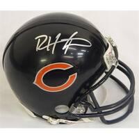 Devin Hester Signed Bears Riddell Replica Mini Helmet